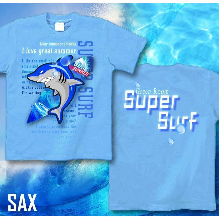 Tシャツ 鮫 サメ 海 夏 サーフィン genju 06