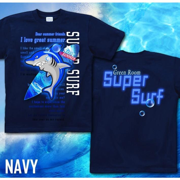 Tシャツ 鮫 サメ 海 夏 サーフィン genju 07