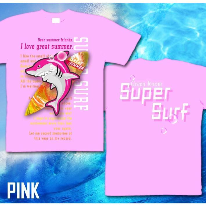 Tシャツ 鮫 サメ 海 夏 サーフィン genju 08