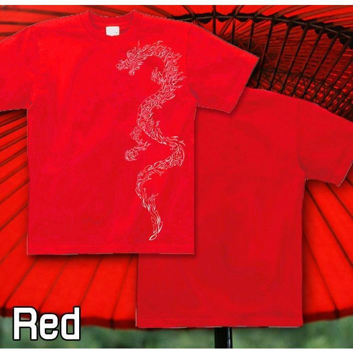 Tシャツ トライバル 竜 龍 和柄 入れ墨|genju|07