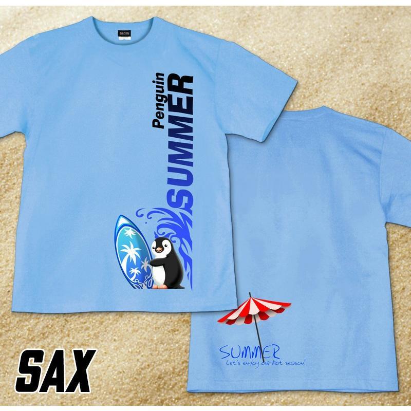 GENJU 夏Tシャツ メンズ サーフィン 海 ペンギン|genju|07