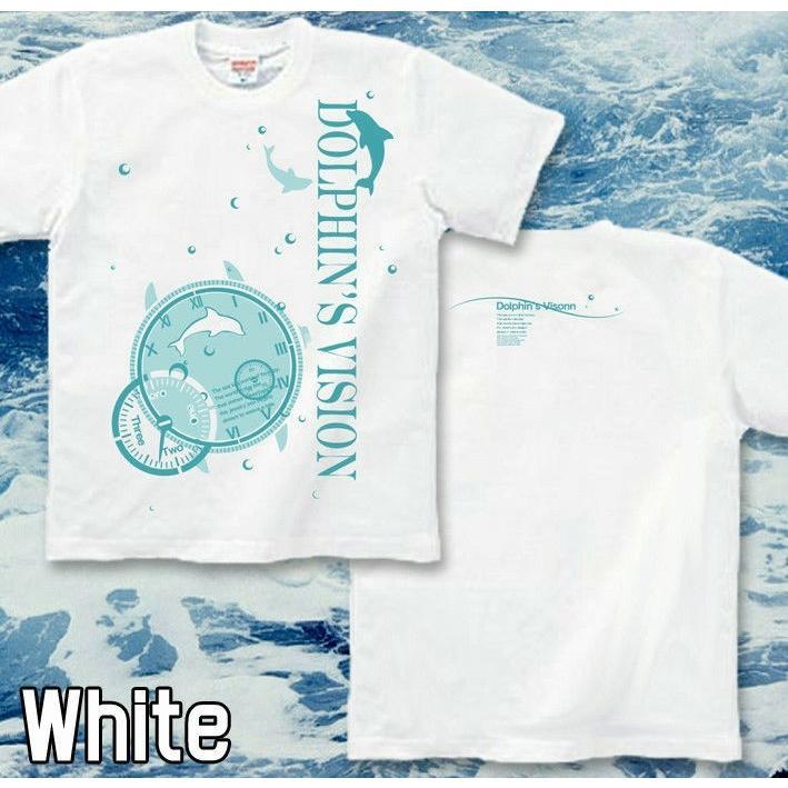 Tシャツ イルカ 海 夏 ドルフィン サイズ genju 03