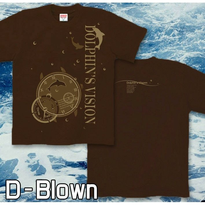 Tシャツ イルカ 海 夏 ドルフィン サイズ genju 06