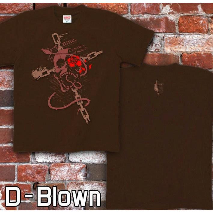 Tシャツ スカル ドクロ メタル ロック genju 03
