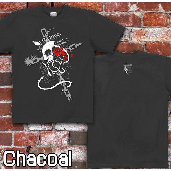 Tシャツ スカル ドクロ メタル ロック genju 05