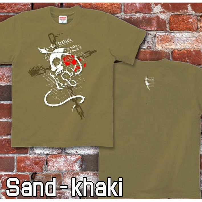 Tシャツ スカル ドクロ メタル ロック genju 07