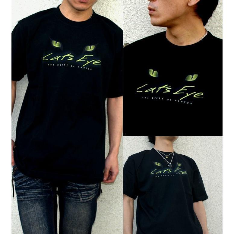Tシャツ 猫 Cats Eye|genju|02