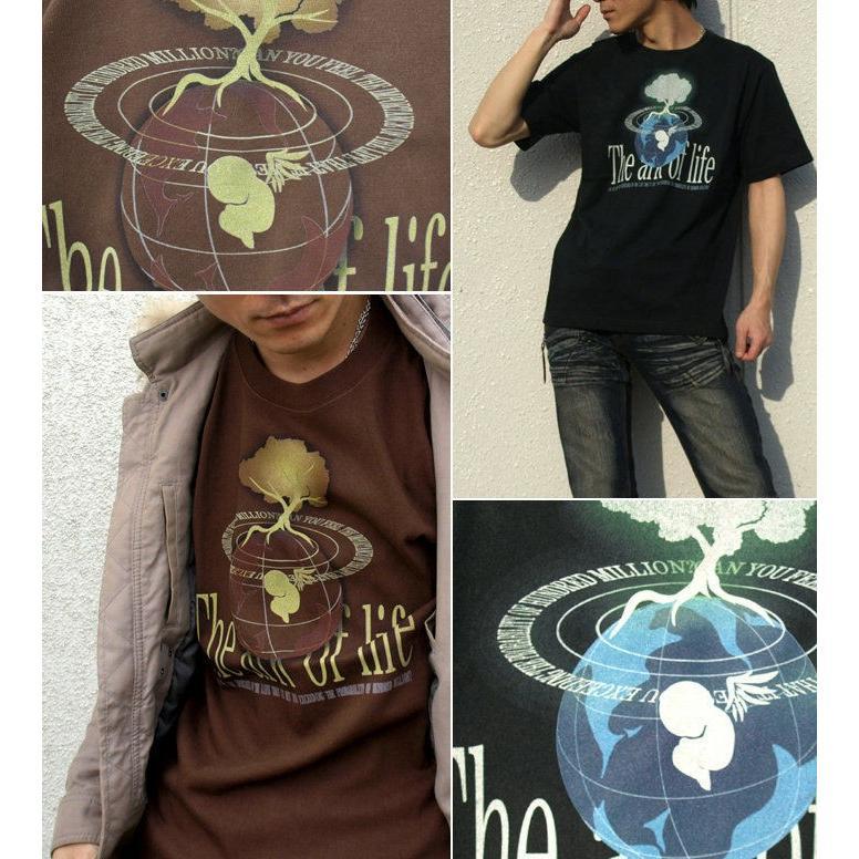 Tシャツ 天使 エンジェル 地球|genju|02