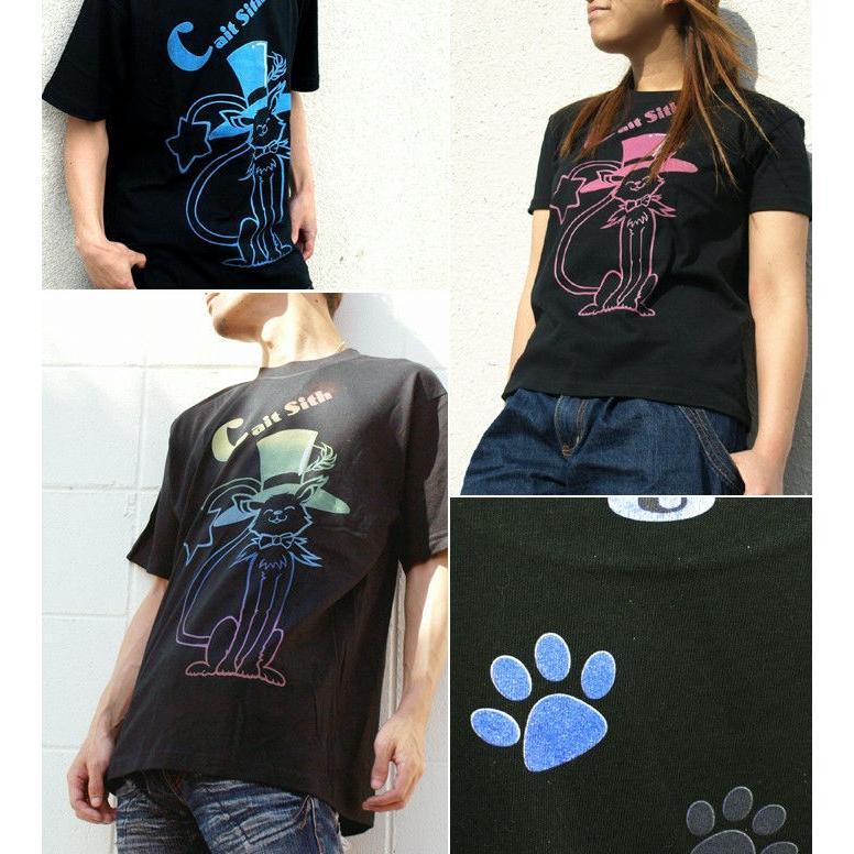 Tシャツ 猫 ネコ 可愛い キュート|genju|02