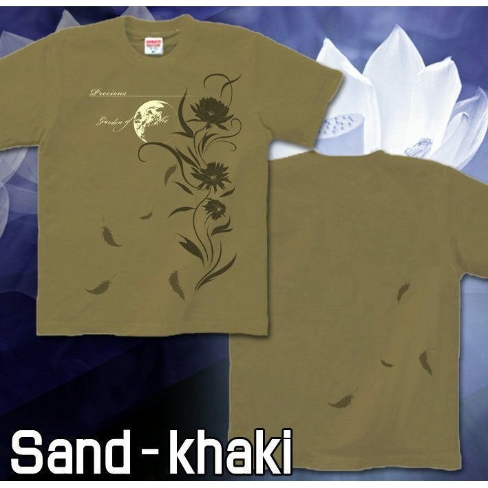 Tシャツ 花柄 きれいめ 幻想 美 気品|genju|07