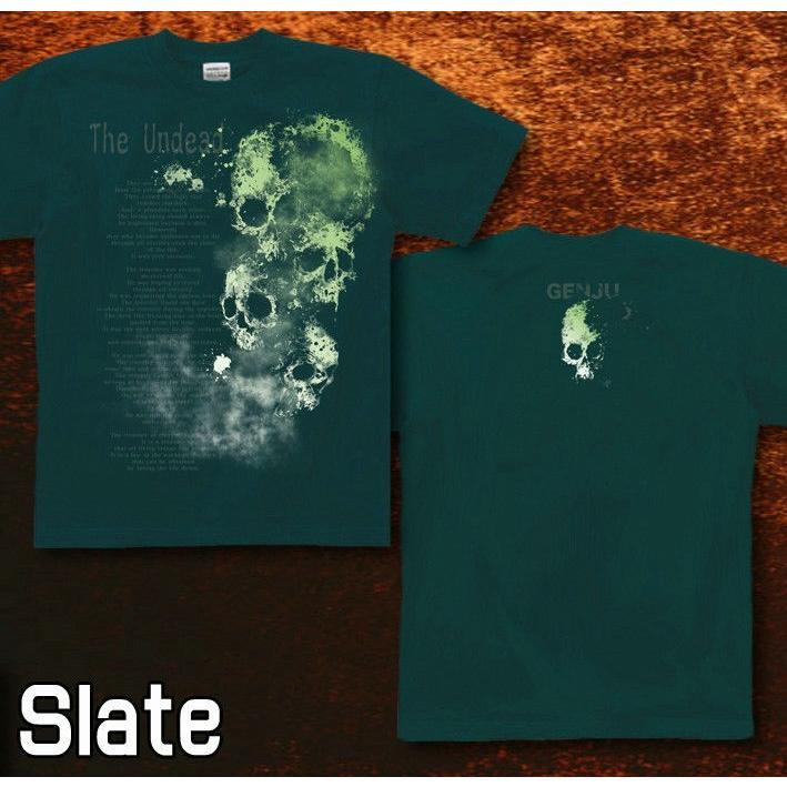 Tシャツ スカル メタル ロック ハード|genju|06
