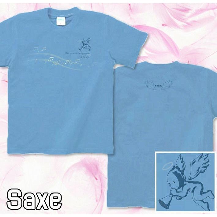 Tシャツ 天使 音譜 楽譜 音符 可愛い genju 06