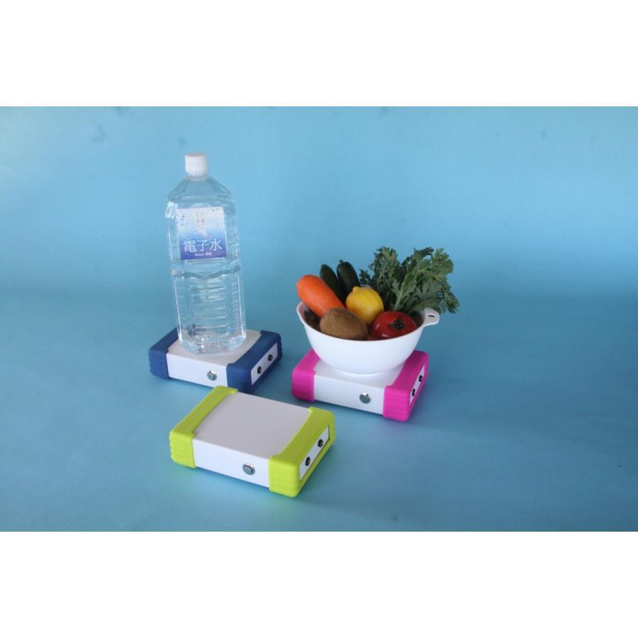 家庭用電子水生成器 NEW ミラック21MINI お好みの水に電子をチャージ! 水道水 天然水 ミネラルウォーター アルカリイオン水 井戸水 水素水 genkijapan