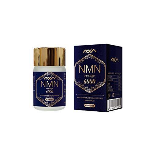 NMN renage (エヌエムエヌ レナージュ) 6000 60粒 (送料無料) サプリ サプリメント 健康食品 NMN ニコチンアミドモノヌクレオチド 肌