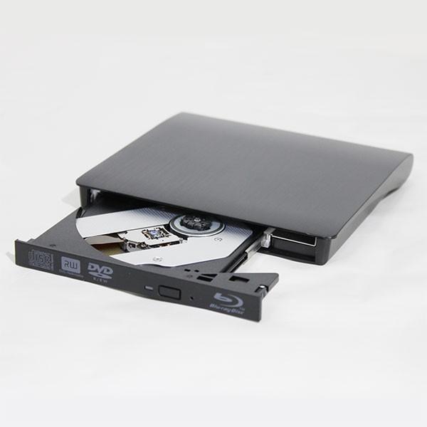 国内在庫 アウトレット Blu-rayスリムUSB外付けドライブ BDXL対応 USB3.0対応 初売り