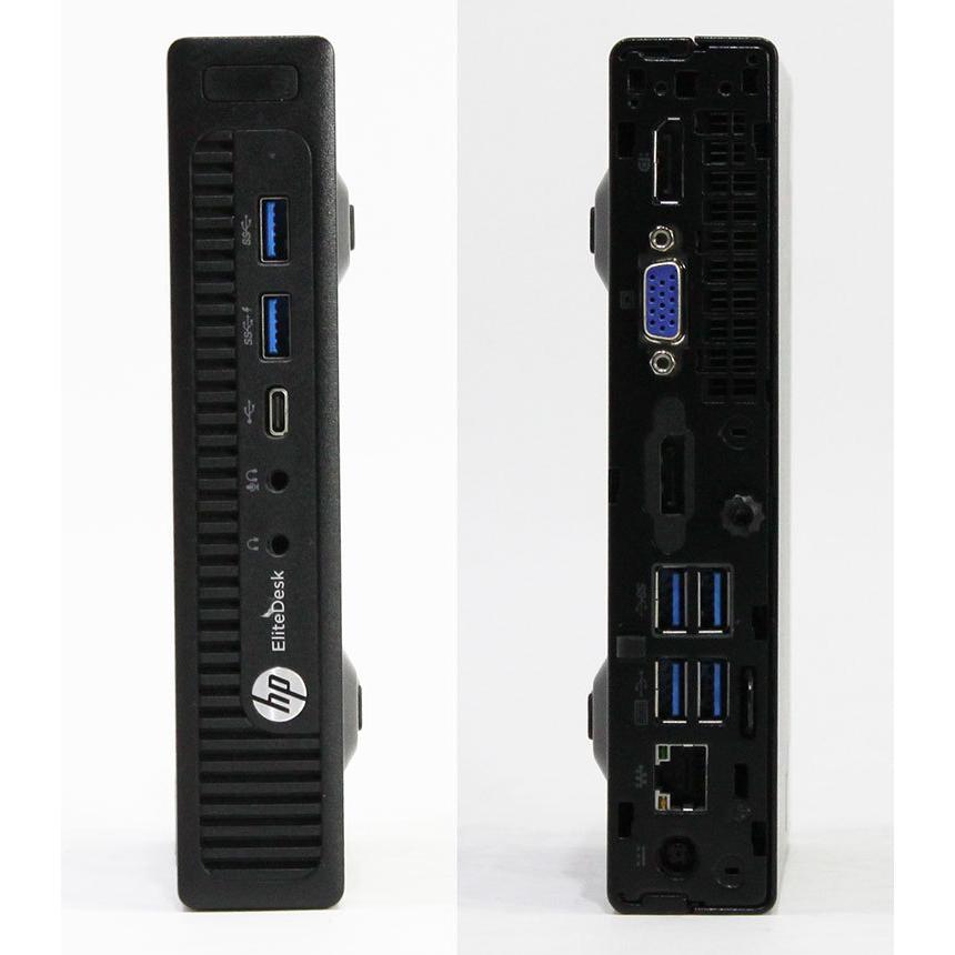 【良品中古デスクトップ】HP EliteDesk 800 G2 DM [L1W21AV] (Core i5-6500T 2.5GHz/ メモリ8GB/ SSD512GB+HDD1.0TB/ 10Pro64bit)|geno|02