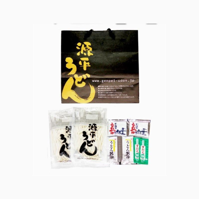 【基本セット】本場讃岐半生うどん 約6人前|genpei-udon