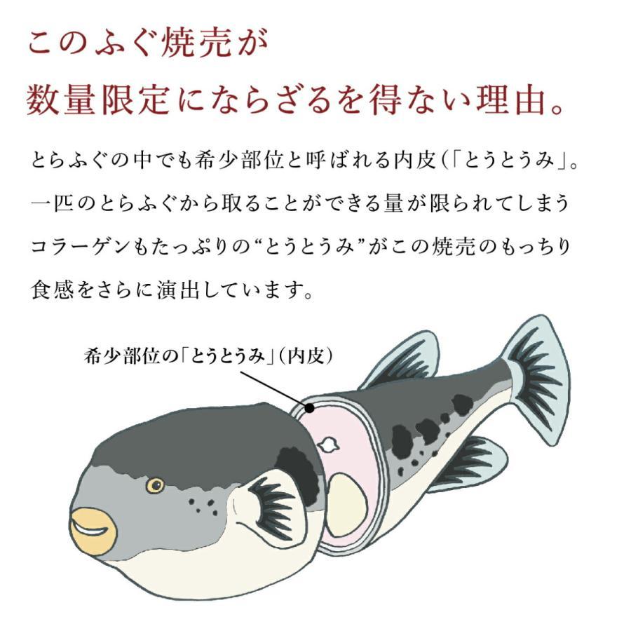 ふぐ フグ ギフト お取り寄せ 国産 海鮮 御祝 グルメ もっちりふぐ焼売(4個入り)|genpinfugu|03