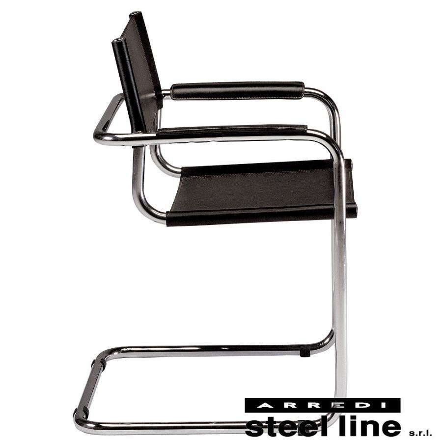 マルト・スタム S34アームチェア スティールライン社DESIGN900 (steelline) genufine-store 01