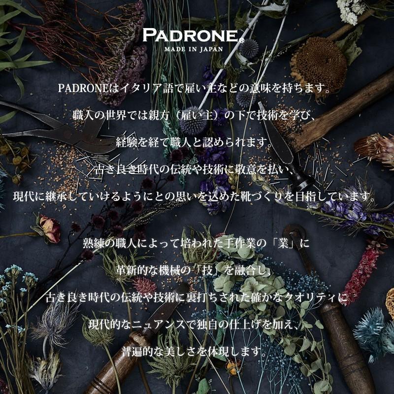 (革靴人気第1位) PADRONE パドローネ パドロネ JACK ジャック ダービープレーントゥシューズ メンズ 革靴 短靴 レザーシューズ PU7358-2001-11C|geostyle|10