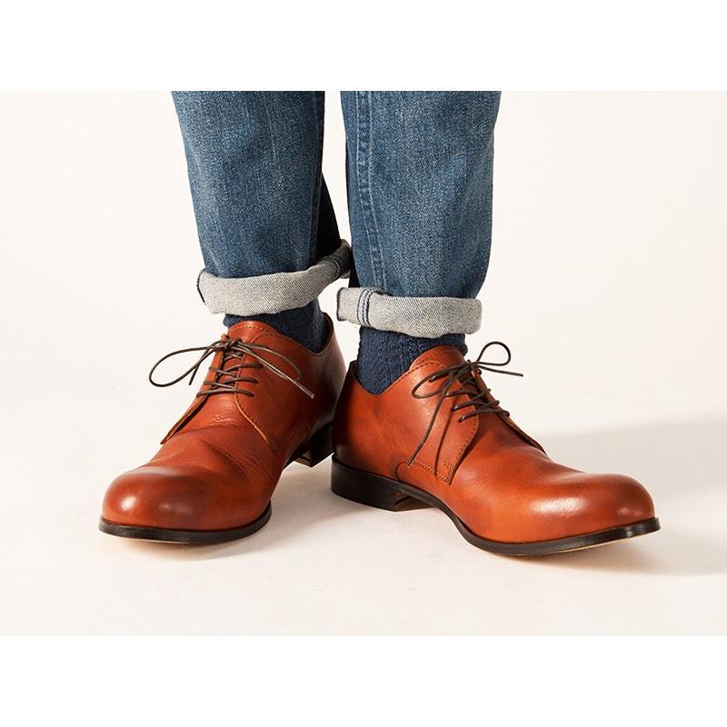 (革靴人気第1位) PADRONE パドローネ パドロネ JACK ジャック ダービープレーントゥシューズ メンズ 革靴 短靴 レザーシューズ PU7358-2001-11C|geostyle|03