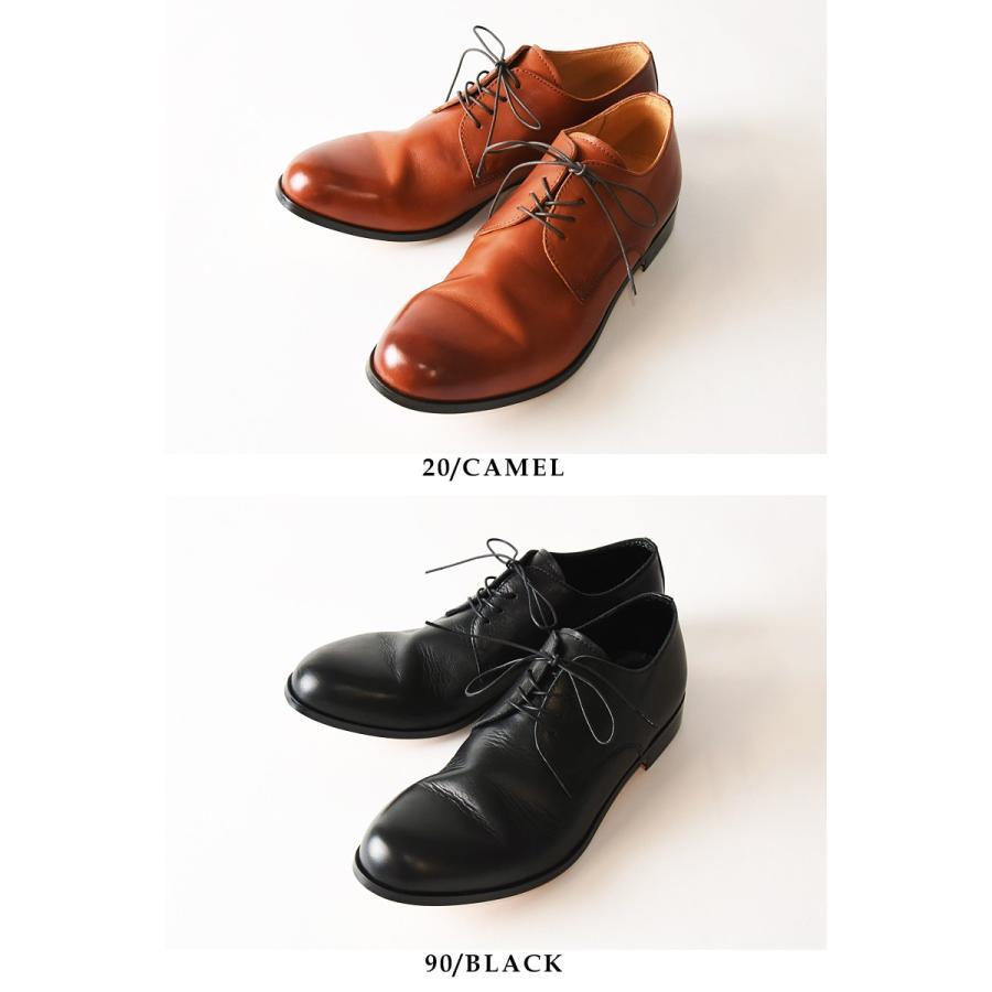 (革靴人気第1位) PADRONE パドローネ パドロネ JACK ジャック ダービープレーントゥシューズ メンズ 革靴 短靴 レザーシューズ PU7358-2001-11C|geostyle|06