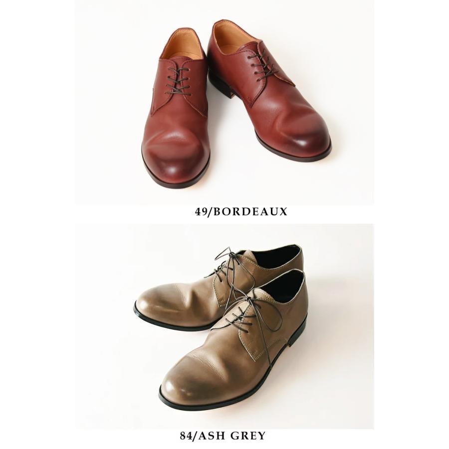 (革靴人気第1位) PADRONE パドローネ パドロネ JACK ジャック ダービープレーントゥシューズ メンズ 革靴 短靴 レザーシューズ PU7358-2001-11C|geostyle|07