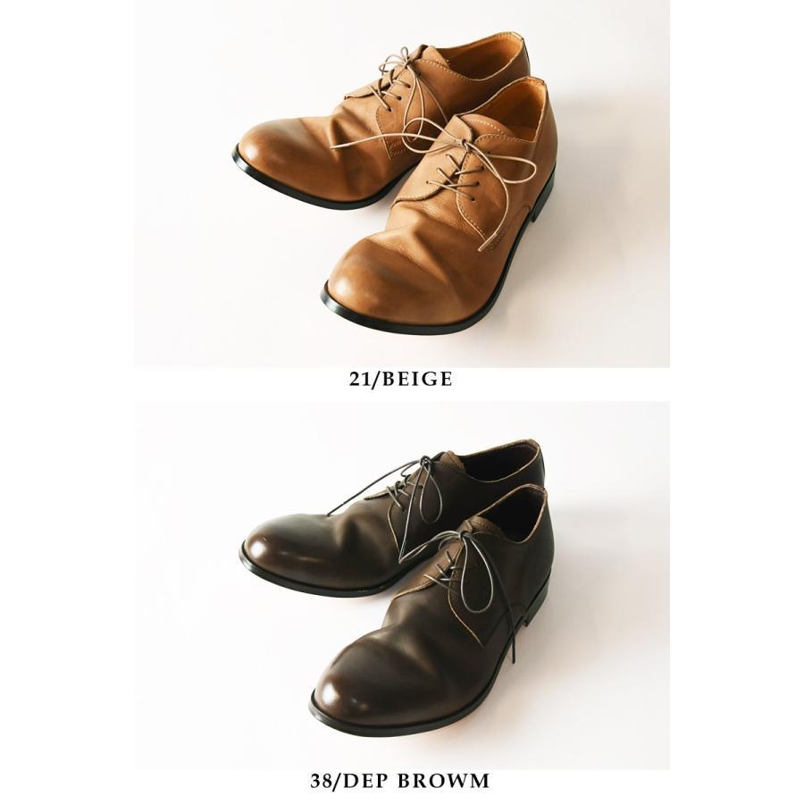 (革靴人気第1位) PADRONE パドローネ パドロネ JACK ジャック ダービープレーントゥシューズ メンズ 革靴 短靴 レザーシューズ PU7358-2001-11C|geostyle|08