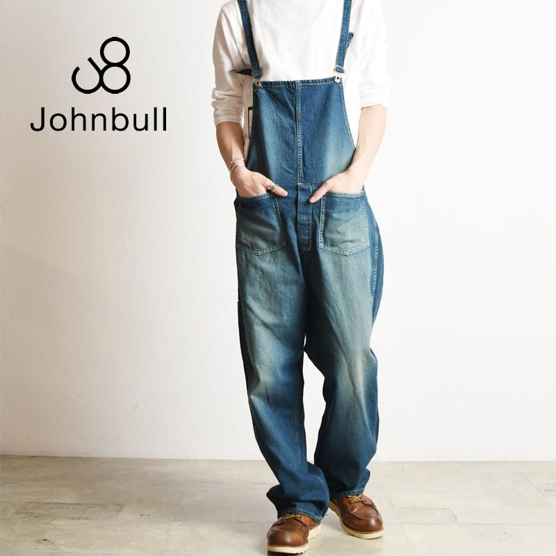 ジョンブル Johnbull デニム ワークオーバーオール サロペット メンズ 21050|geostyle