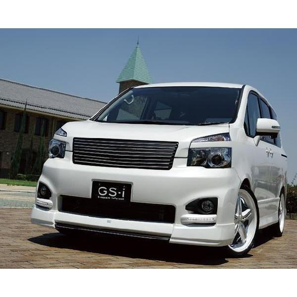 ヴォクシー 70系 MC後 フロントグリル フロントアンダーグリル 2点セット mono-tone塗装済 GS-I VOXY|gfactory|03