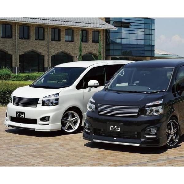 ヴォクシー 70系 MC後 フロントグリル フロントアンダーグリル 2点セット mono-tone塗装済 GS-I VOXY|gfactory|04