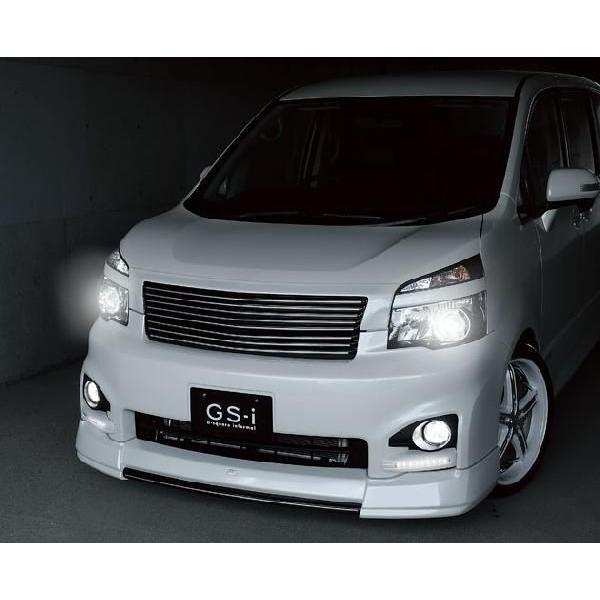 ヴォクシー 70系 MC後 フロントグリル フロントアンダーグリル 2点セット 2-tone塗装済 GS-I VOXY|gfactory|02