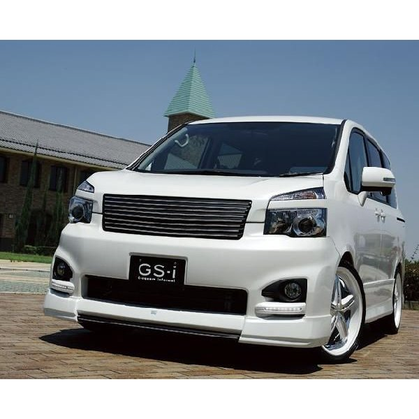 ヴォクシー 70系 MC後 フロントグリル フロントアンダーグリル 2点セット 2-tone塗装済 GS-I VOXY|gfactory|03