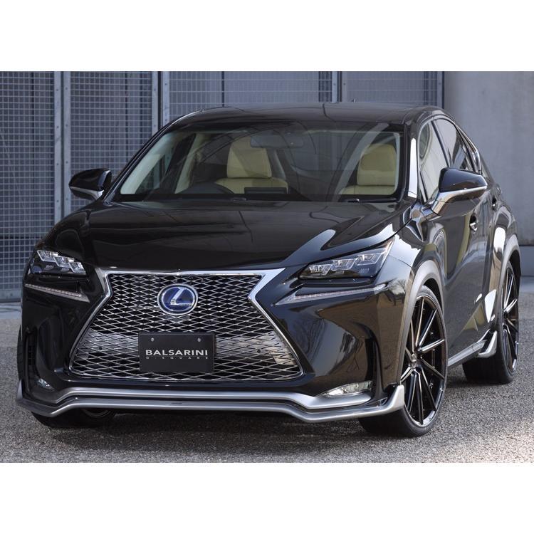 レクサス NX フロント グリル【BALSARINI 仕様】ABS製 未塗装 全車対応|gfactory|03