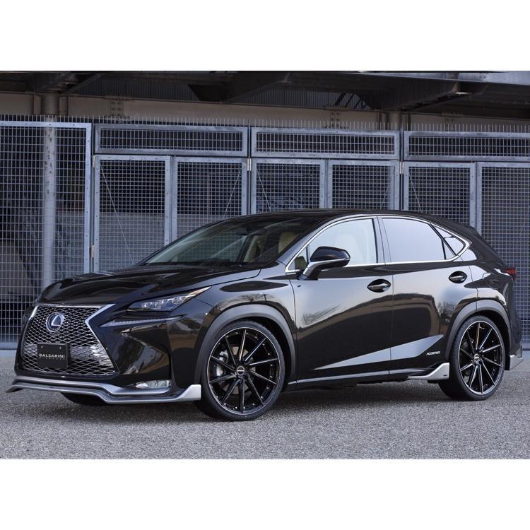 レクサス NX フロント グリル【BALSARINI 仕様】ABS製 未塗装 全車対応|gfactory|04