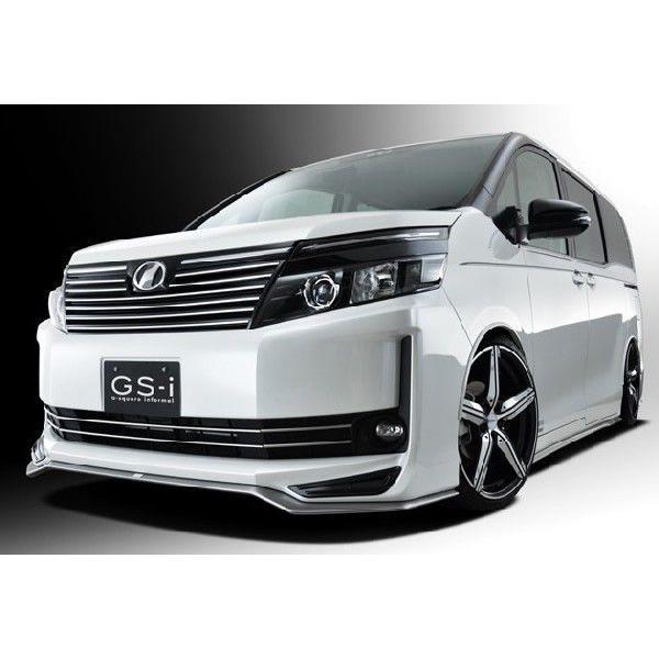 ヴォクシー 80系 V,X ハイブリッド車含む グレード専用 フロントスポイラー 塗装済 GS-i VOXY|gfactory|02