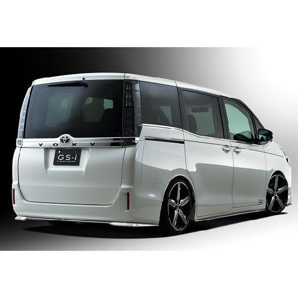 ヴォクシー 80系 V,X ハイブリッド車含む グレード専用 フロントスポイラー 塗装済 GS-i VOXY|gfactory|04