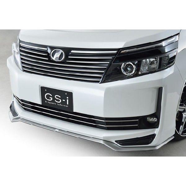ヴォクシー 80系 V,X ハイブリッド車含む グレード専用 フロントスポイラー 塗装済 GS-i VOXY|gfactory|06