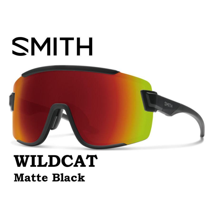 【2018?新作】 SMITH スミス ワイルドキャット サングラス 【 SMITH WILDCAT 】 スノーボード ゴーグル スノボ GOGGLE BIKE 自転車 SUNGLASS Matte Black, マイミシン 42fb363c