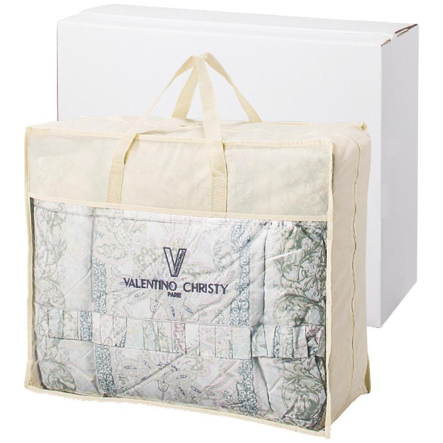 ヴァレンティノ・クリスティー 羽毛布団バッグ入 手提袋・包装無料