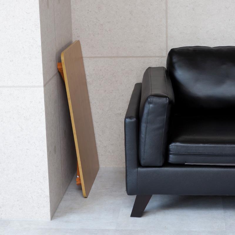 送料無料 テーブル 折りたたみ 一人用 ローテーブル 69cm 49cm 29cm 長方形 白 黒 ナチュラル ブラウン 折り畳み 1人用 小さい 小さめ おしゃれ ggbank 12