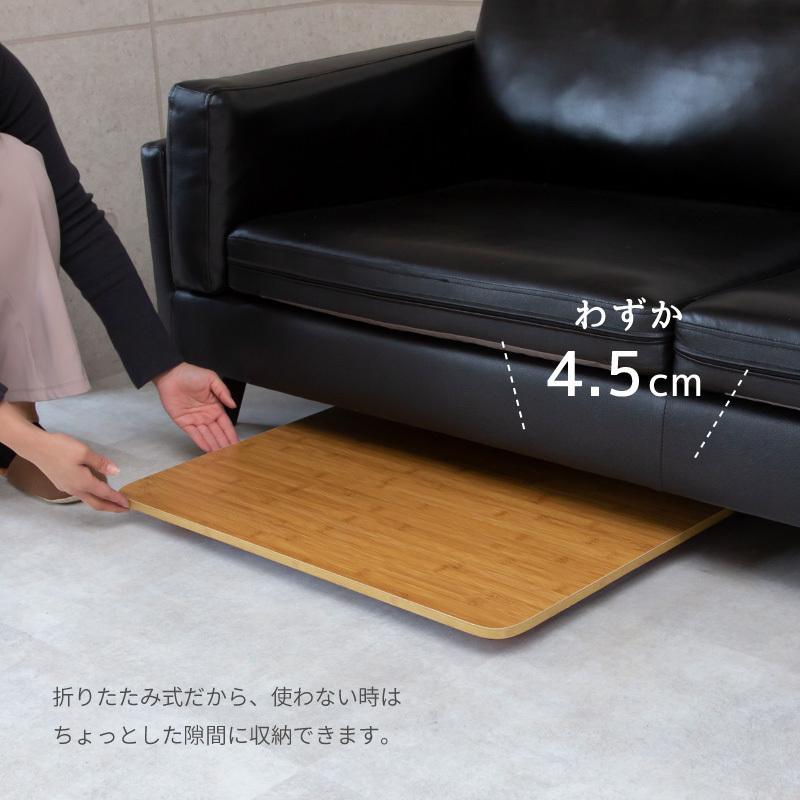 送料無料 テーブル 折りたたみ 一人用 ローテーブル 69cm 49cm 29cm 長方形 白 黒 ナチュラル ブラウン 折り畳み 1人用 小さい 小さめ おしゃれ ggbank 05