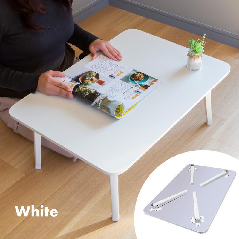 送料無料 テーブル 折りたたみ 一人用 ローテーブル 69cm 49cm 29cm 長方形 白 黒 ナチュラル ブラウン 折り畳み 1人用 小さい 小さめ おしゃれ ggbank 08