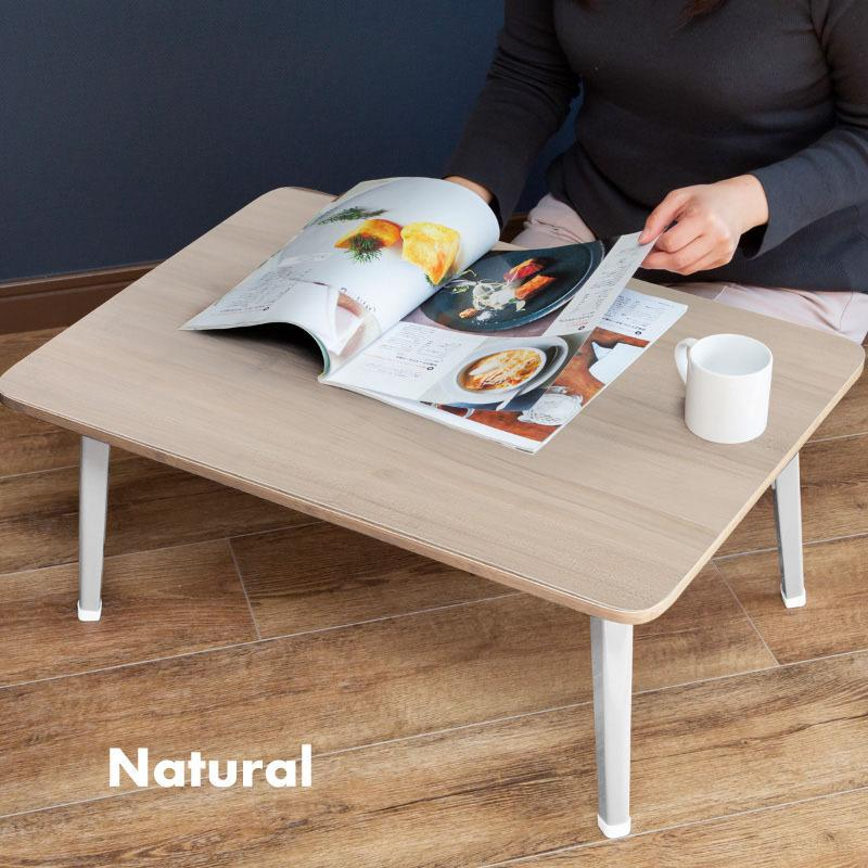 送料無料 テーブル 折りたたみ 一人用 ローテーブル 69cm 49cm 29cm 長方形 白 黒 ナチュラル ブラウン 折り畳み 1人用 小さい 小さめ おしゃれ ggbank 10