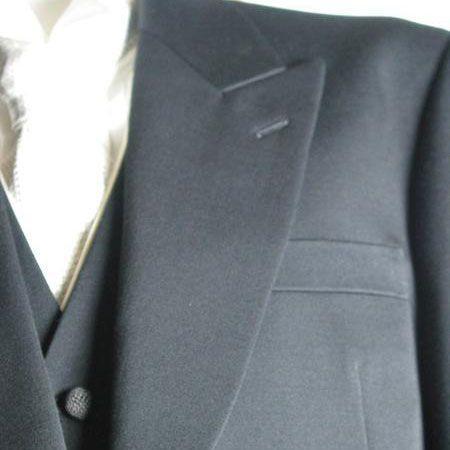 尾州素材のモーニングコート3PRM1824上着+白衿付きベスト+RM1482パンツ|ghkwebshop|02