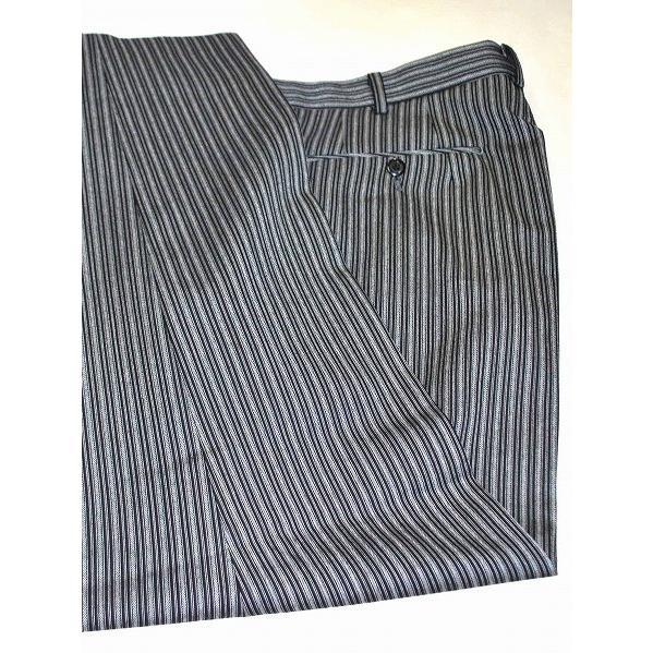 尾州素材のモーニングコートとSUPERTEXのノータックのアジャスター付き縞パンツの3点セットRM1824e1622 秋冬梅春向き|ghkwebshop|13