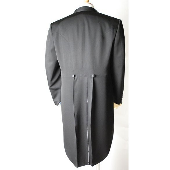 尾州素材のモーニングコートとSUPERTEXのノータックのアジャスター付き縞パンツの3点セットRM1824e1622 秋冬梅春向き|ghkwebshop|06