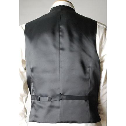 尾州素材のモーニングコートとSUPERTEXのノータックのアジャスター付き縞パンツの3点セットRM1824e1622 秋冬梅春向き|ghkwebshop|08