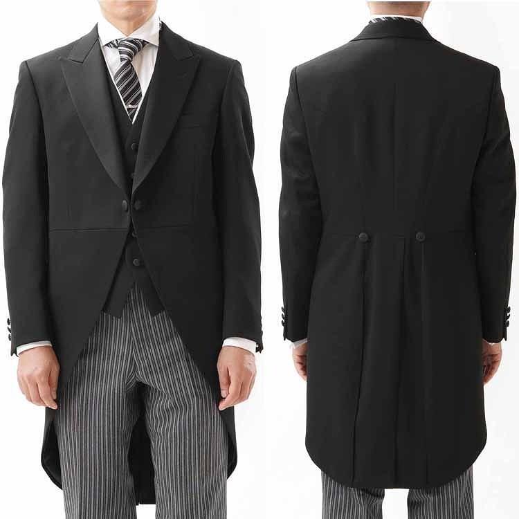尾州素材のスリムなモーニングコート&ベストとSupertexのワンタックの縞パンツの3点セットRM1826-E1822|ghkwebshop|05
