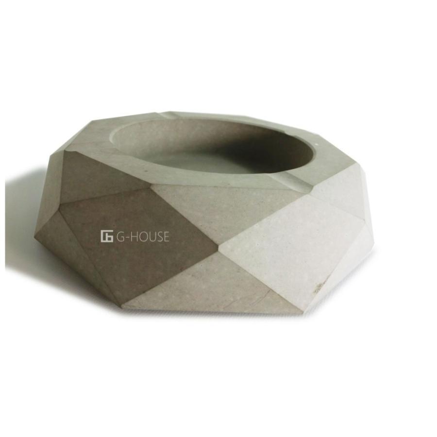 高級 おしゃれ モダン アート デザイン スタイリッシュ コンクリート セメント製 ハンドメイド 灰皿 品番:GMS01223(S)|ghouse-ystore|03